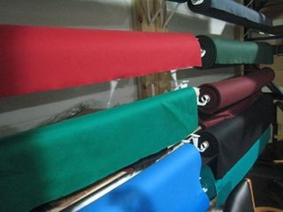 Pool table refelting, cloth colors, Cleveland Ohio