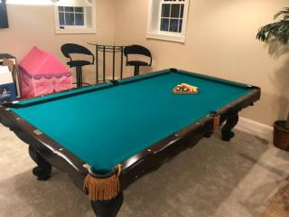 Solo 174 Mentor Beautiful Brunswick Pool Table For Sale 153