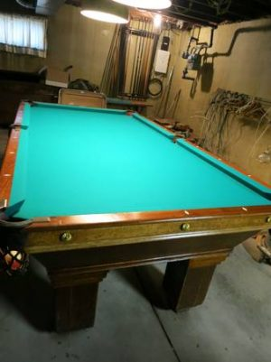 Solo 174 Cleveland Ohio Cleveland Antique Pool Table
