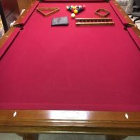 American Heritage 8 Foot Slate Pool Table
