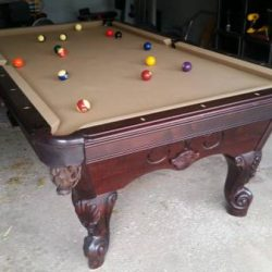 8' Pool Table