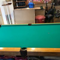 Recently Felted American Heritage Slate pool table