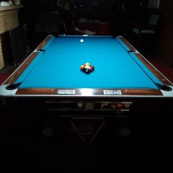 9' Brunswick Gold Crown Pool Table