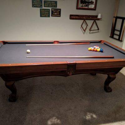 Custom Billiard Pool Table