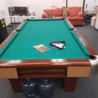 Brunswick Pool Table $1800