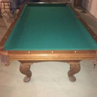 Quality Pool Table 1in Slate