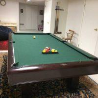 Brunswick Hawthorne Pool Table 8 ft