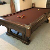 Solo 174 Mentor Pinehurst Brunswick Pool Table 80