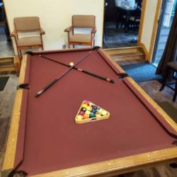 Pool Table and Accessories