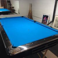9 Brunswick Gold Crown IV Pool Table