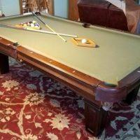 Beautiful Olhausen Pool Table-Camel Felt