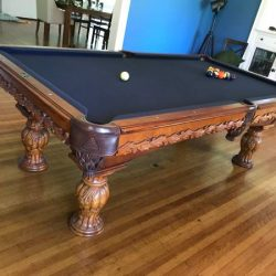 Like New Wooden Pool Table