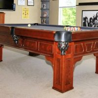 FISCHER POOL TABLE AND ASSESSORIES