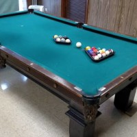 ANTIQUE POOL TABLE - MUST GO!