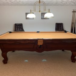 8' Brunswick Orleans Pool Table