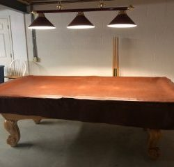 Standard 8' Oak Pool Table